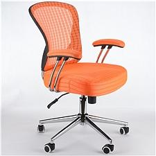 顺发 记忆棉舒适职员椅 (橙色)  JM163BM