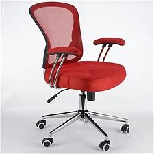 顺发 记忆棉舒适职员椅 (红)  JM163BM