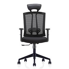 集大 办公椅 (黑) W630*D615*H1170-1270mm  CH-163A-LP