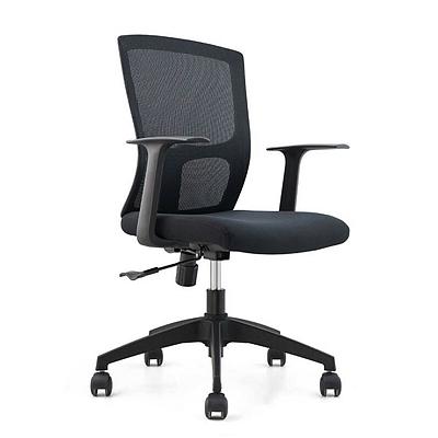 集大 办公椅 (黑) W620*D610*H910-990mm  CH-183B