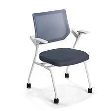国誉 CLAVO洽谈会议椅 白框,灰色背座  AXB-K9WH43KCJM1-W