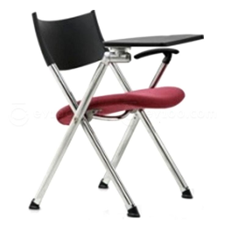 集大 培训椅 (黑背红座) W600*D610*H780mm  CH-039CF