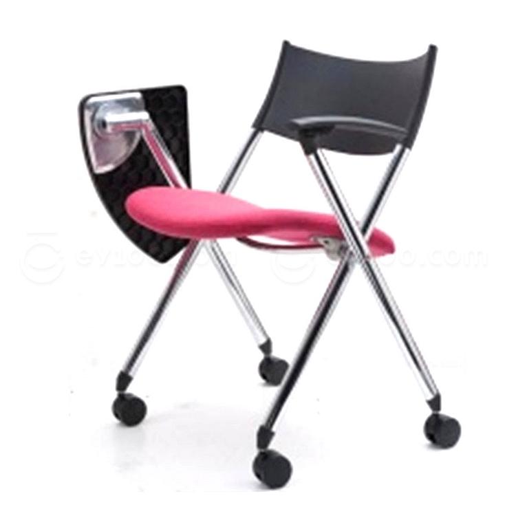 集大 培训椅 (黑背红座) W600*D610*H780mm  CH-039CF-2