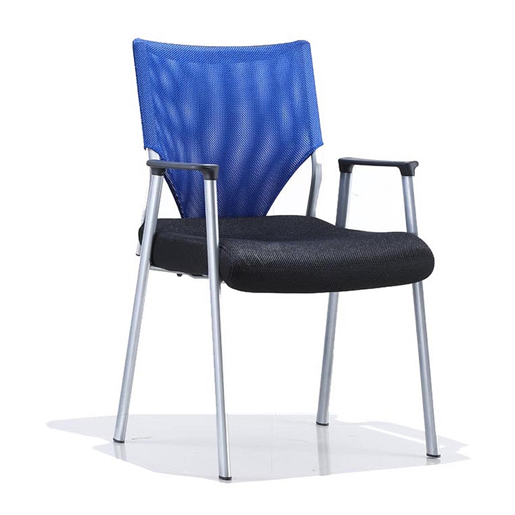 集大 培训椅 (蓝背黑座) W490*D520*H890mm  CH-043C