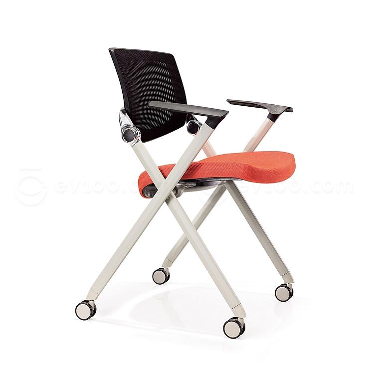 集大 培训椅 (黑背红座) W700*D570*H840mm  LACK-1A