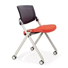 集大 培训椅 (黑背红座) W700*D570*H840mm  LACK-2A