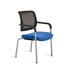 恩榮 培訓椅 (背黑座藍)  JG13026H