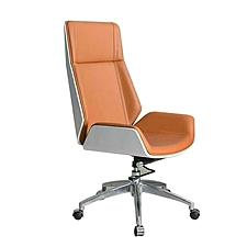 吴俚 西皮办公椅 (黄) W600*D660*H1100mm  WL-9301A