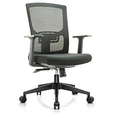 吳俚 辦公椅 (黑) 560W*520D*450/1200H  WL-2070B