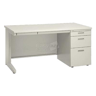 国誉 钢制单袖桌 (F1色(米白)) 长1200mm  AXA-D22N