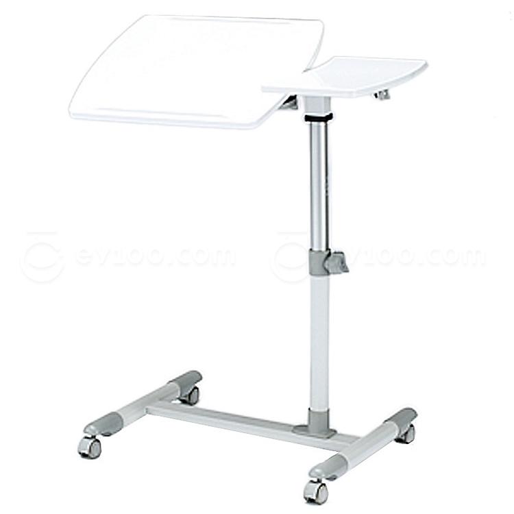 山业 SANWA可升降笔记本电脑桌 (白)  100-DESK040