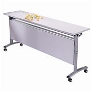 顺华 翻板会议桌 (灰白) 含挡板  SH-1500