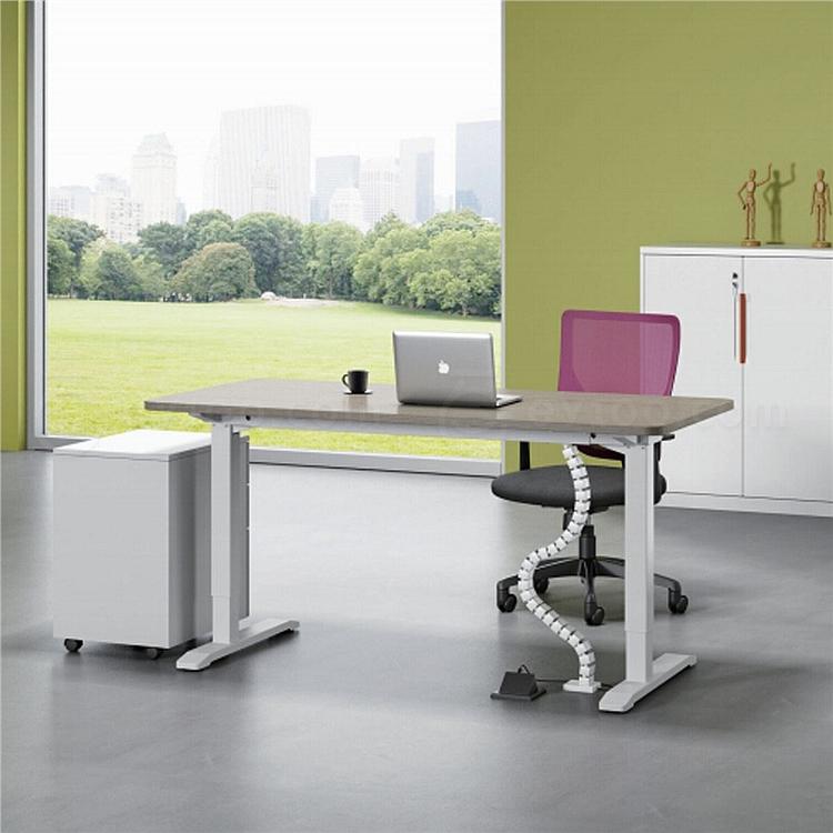 吴俚 电动升降桌 (枫木色)  WL-ID01