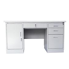 集大 办公桌 (浅灰色) 1400*700*740mm  GX-1472