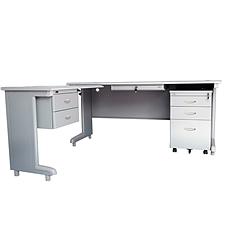 集大 办公桌 (浅灰色)  AZGX-1610A