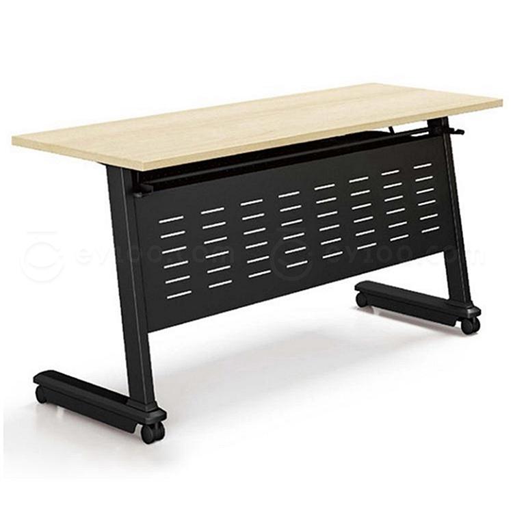 集大 折叠培训桌 (枫木色) W1400*D400*H750  FS002-14