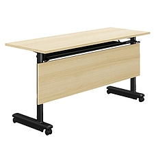 集大 折叠培训桌 (枫木色) W1600*D500*H750  FS003-16