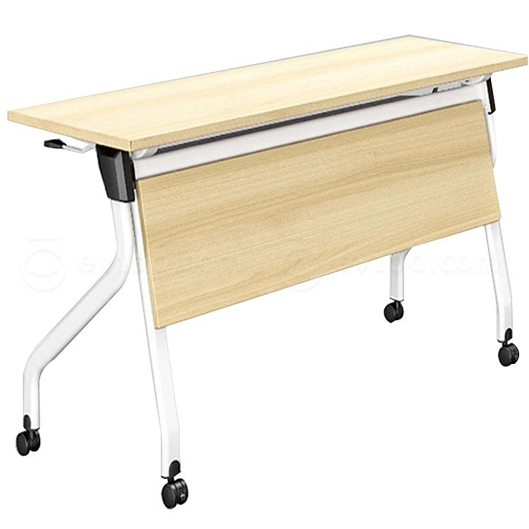 集大 折叠培训桌 (枫木色) W1400*D500*H750  FS005-14