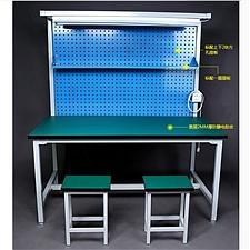 吴俚 工作台操作台带挂板 (绿) 1500W*800D*750H  WL-1801T158
