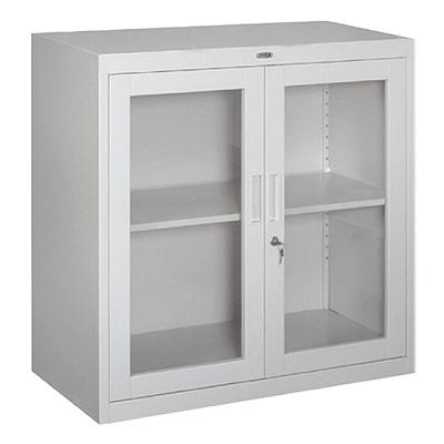 集大 800型玻璃开门柜 (浅灰)  CA-BK-7