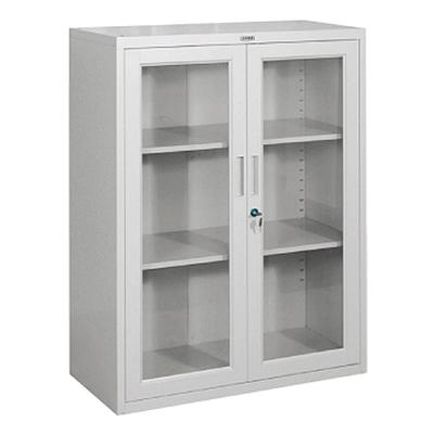 集大 800型玻璃开门柜 (浅灰)  CA-BK-10
