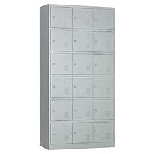 发力 十八门更衣柜 (灰白) 900*400*1850  FL-149