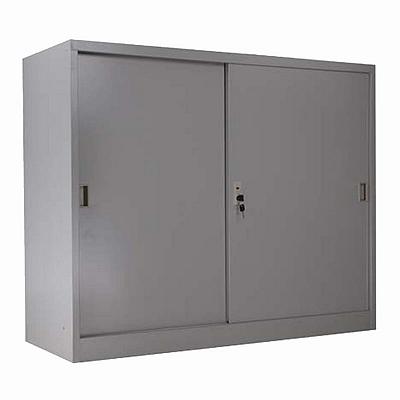 发力 移门矮柜 (灰白) 900*400*900mm  FL-100