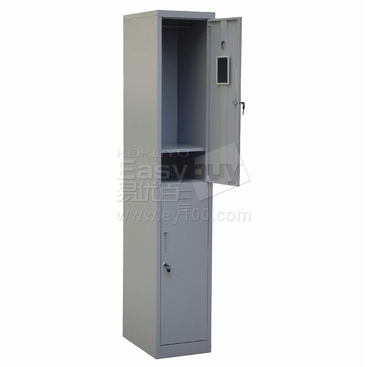 发力 单二门更衣柜 (灰白) 380*450*1800  FL-180