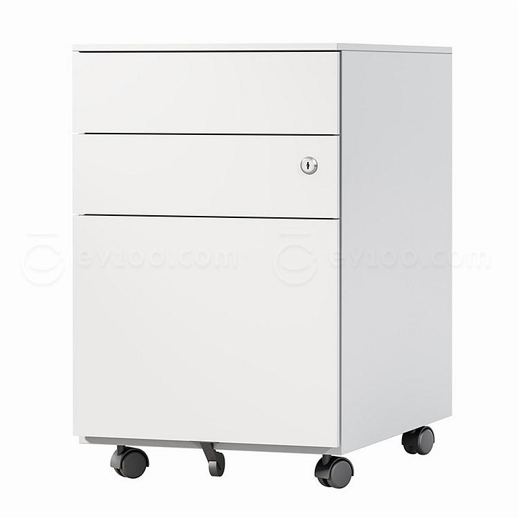 国誉 钢制活动柜 (白) 387*530*600mm  SD-LC45N31WHN