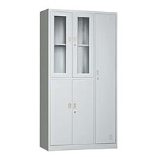 发力 玻璃更衣柜 (灰白)  FL-069