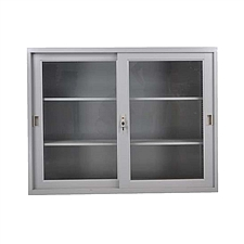 发力 移门玻璃矮柜 (灰白)  FL-098