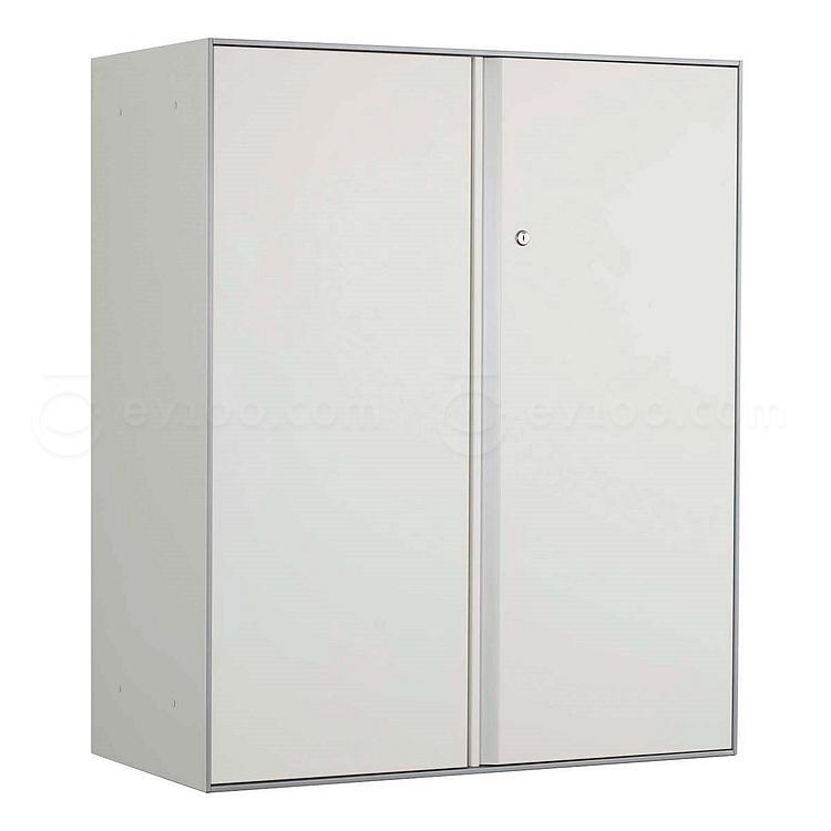 国誉 Softorage三层下置开门柜 900*450*1076mm 白色柜门,银色柜身  KSR-SD39W