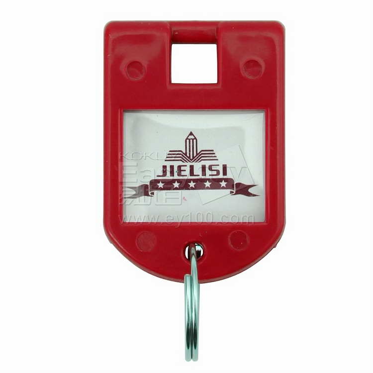 杰丽斯 钥匙扣 (红) 8个/包  087