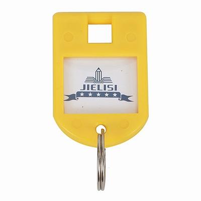杰丽斯 钥匙扣 (黄) 8个/包  087