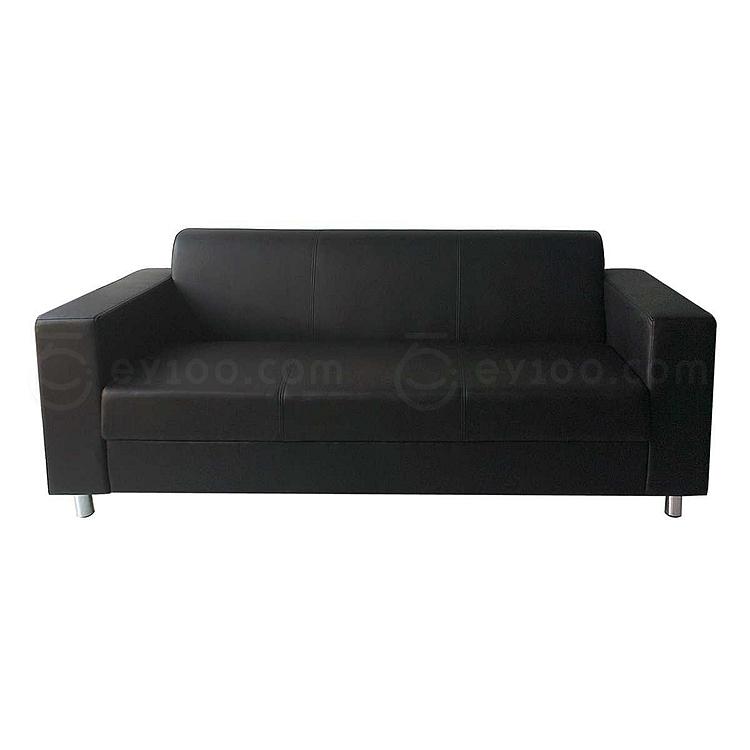 吴俚 办公沙发 (黑)  WL-8769F3