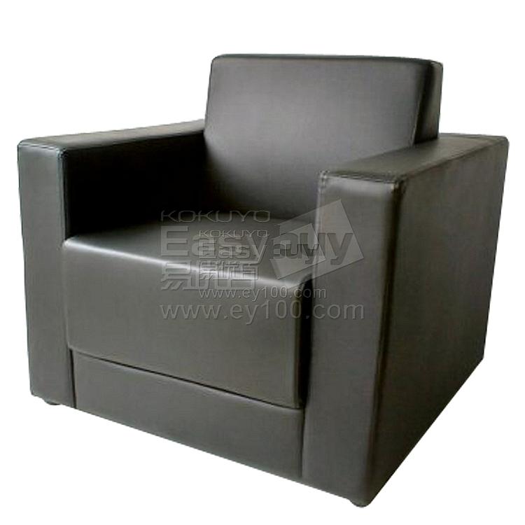 吴俚 会客沙发 (黑) 单人位  WL-8755F1