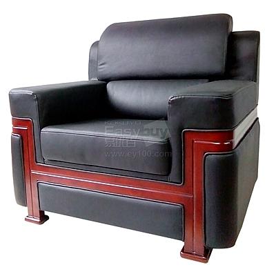 吴俚 会客沙发 (黑) 单人位  WL-8770F1