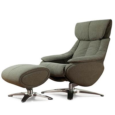 恩荣 休闲沙发椅 (绿)  R163YY01