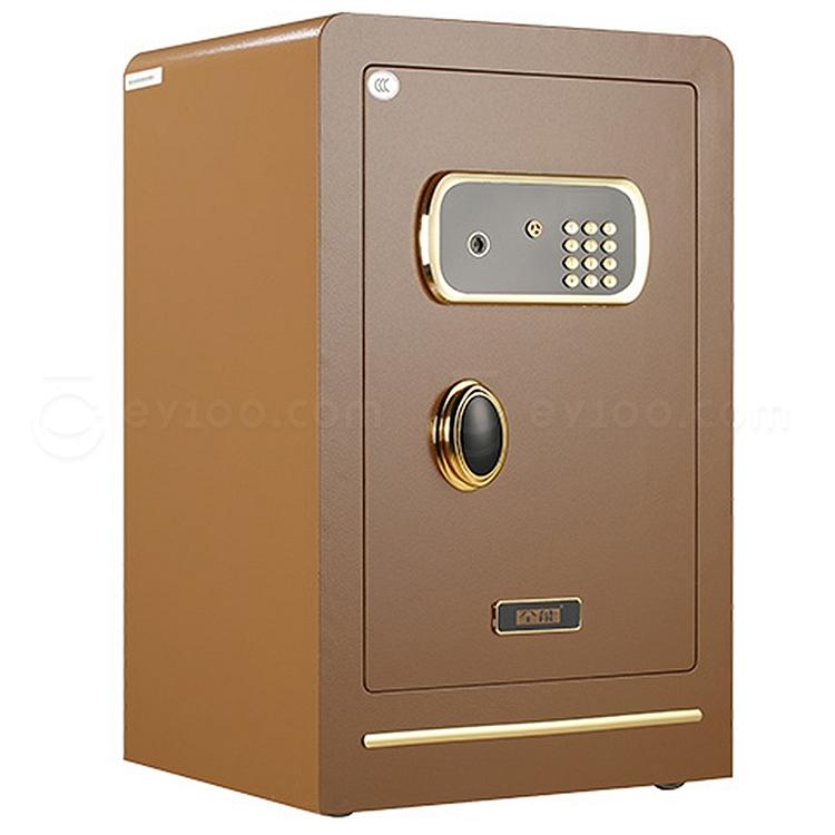 全能 电子密码保险箱防盗保险柜 (金色) 100KG  T1-70