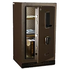 全能 触控电子密码保险箱防盗保险柜 (棕色) 111.5KG  HG-8045II