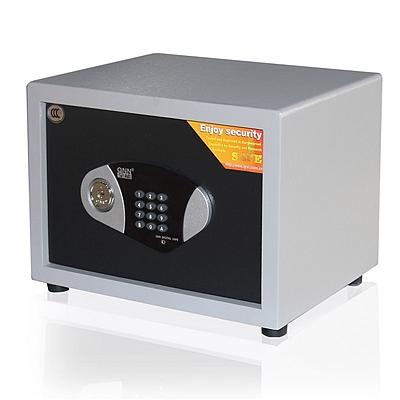 全能 电子密码保险箱防盗保险柜 (黑灰套色) 31KG  TGG-2740