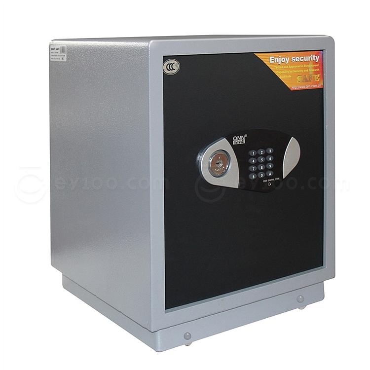 全能 电子密码保险箱防盗保险柜 (黑灰套色) 61KG  TGG-5840