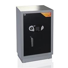 全能 电子密码保险箱防盗保险柜 (黑灰套色) 88KG  TGG-7645