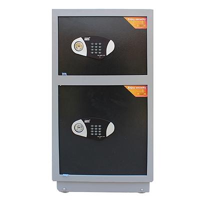 全能 电子密码保险箱防盗保险柜 (黑灰套色) 126KG  TGG-9150D
