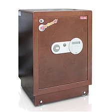 全能 电子密码保险箱防盗保险柜 (棕色) 63KG  HG-5840
