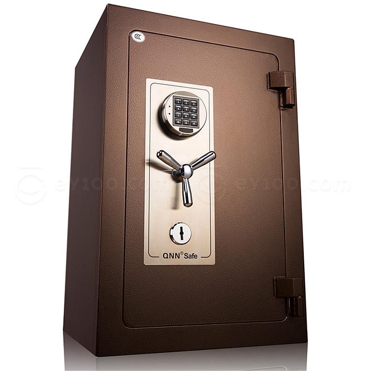 全能 防火电子密码保险箱防盗保险柜 (锤纹金) 145KG  B-7348