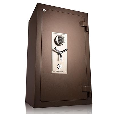 全能 防火电子密码保险箱防盗保险柜 (锤纹金) 233KG  B-9858