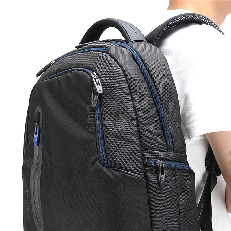 新秀丽 电脑双肩背包 (黑) 63z*003图片