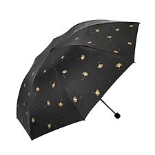天堂 小清新晴雨两用伞黑色 黑色