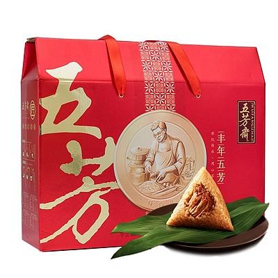 丰年五芳粽子礼盒